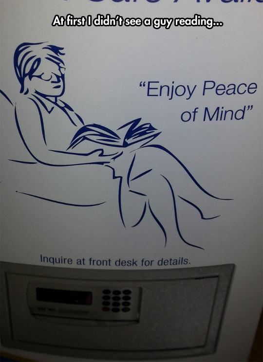 I Should Inquire At Front Desk