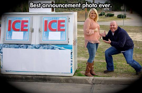 Let Vanilla Ice tell the world…