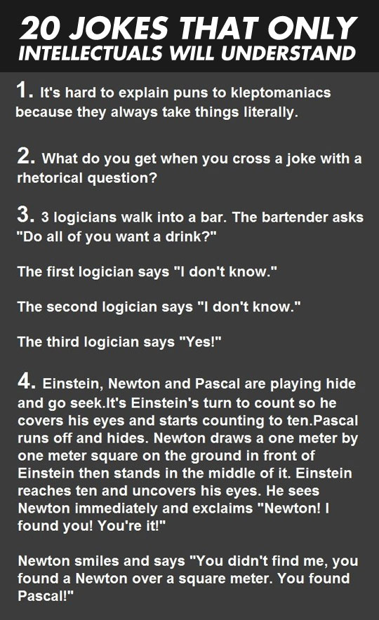 Are You Geek Enough To Understand These Jokes?
