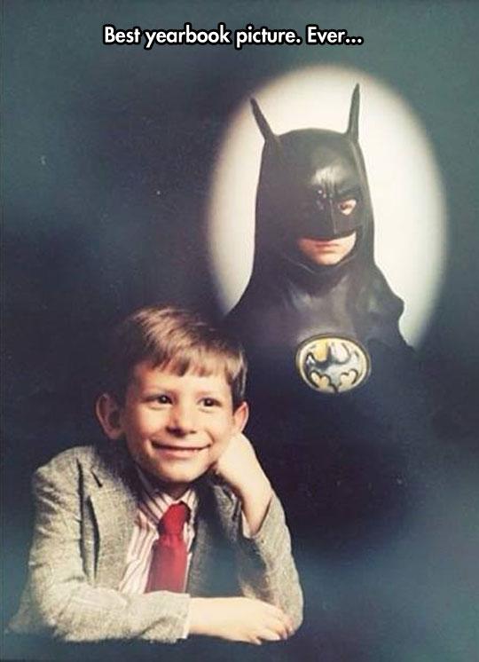 A real life young Bruce Wayne…