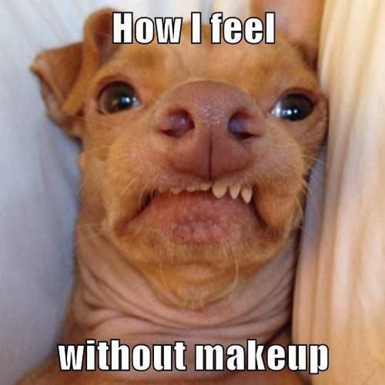 Feeling ugly in the mornings…
