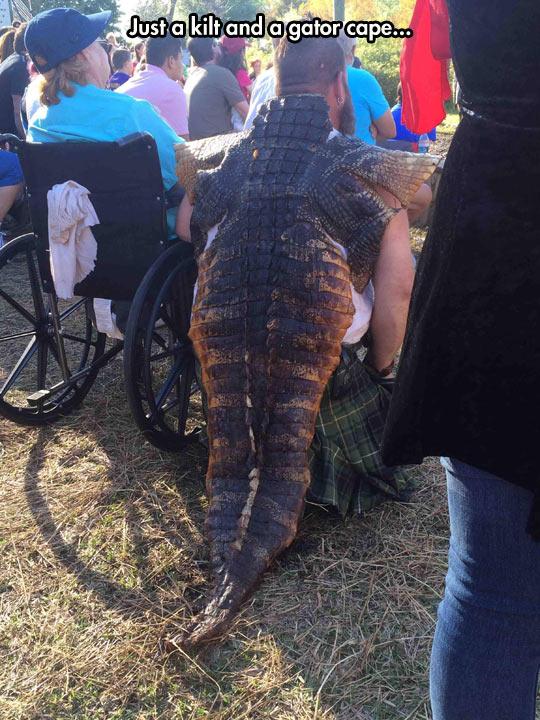 funny-man-alligator-cape-weird