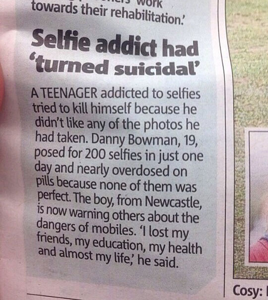 What Selfies Are Doing To Our Society