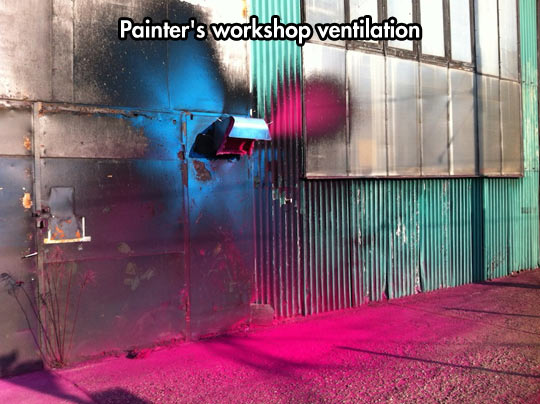 funny-painter-work-blue-pink