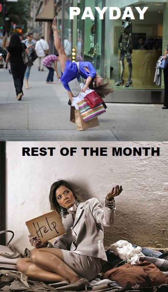 funny-payday-shopping-homeless-clothes