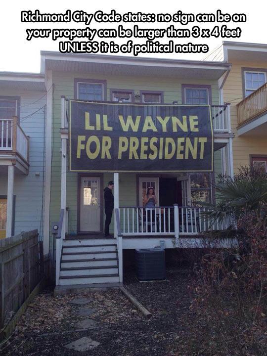 funny-political-sign-Lil-Wayne-Richmond-City