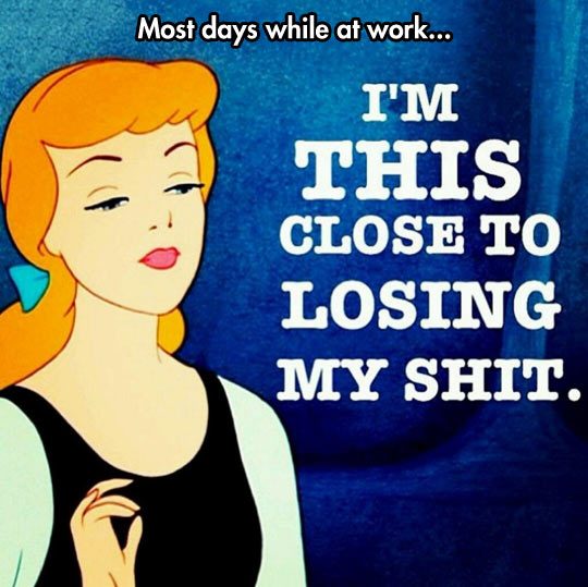 funny-princess-thought-in-work-losing