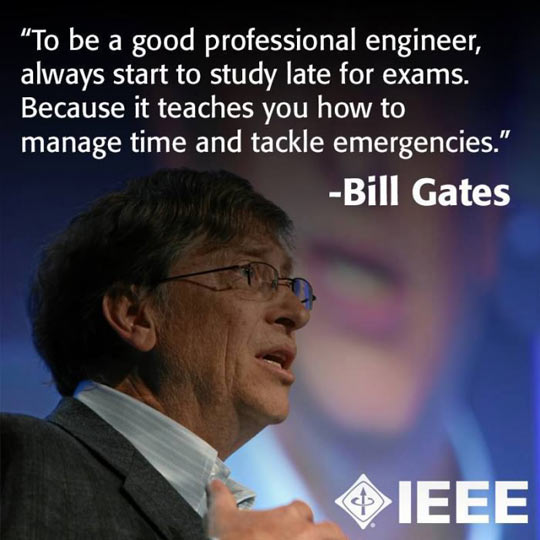 Bill Gates Is My Mentor