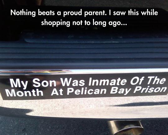 Nothing Beats A Proud Parent