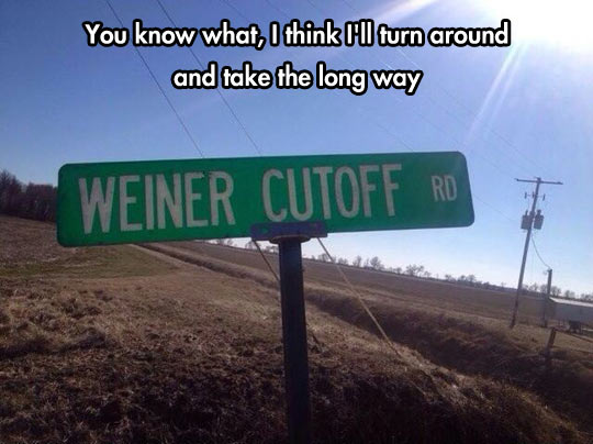 It's a Short Cut