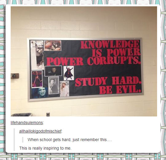 funny-school-sign-studying-hard-evil-knowledge-quote