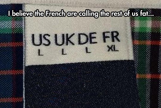 French Are Calling Us Fat