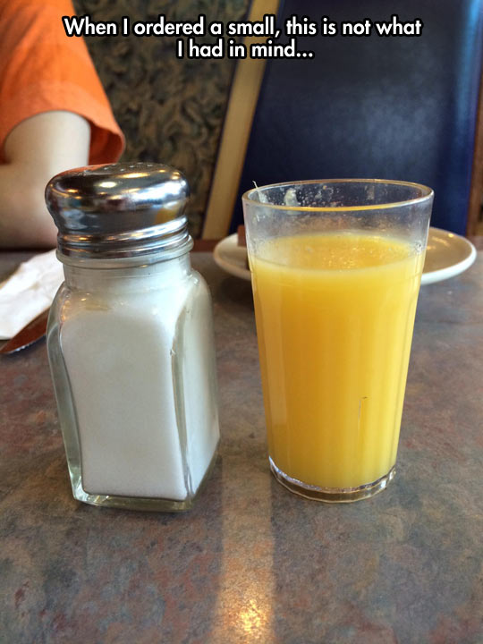Maybe It's a Huge Salt Shaker