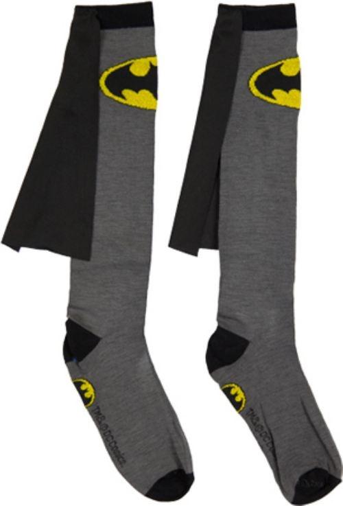 funny-socks-Batman-cape-logo