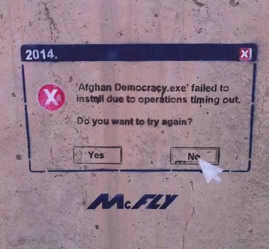 funny-stencil-art-Afghanistan-wall