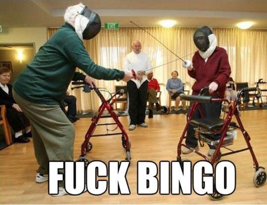 Bingo no more…