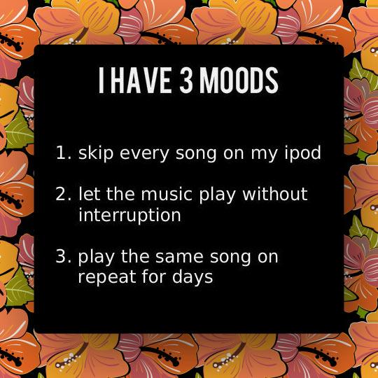 funny-three-humor-moods-song-iPod