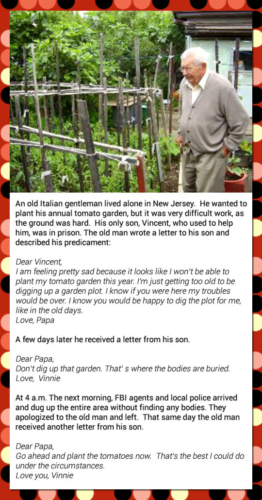 Old Italian Man Gets a Big Surprise