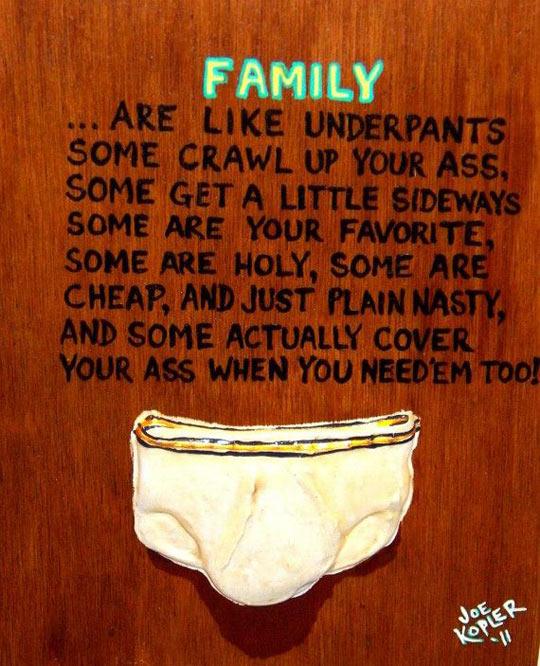 Does My Dad Look Like Panties, Then?