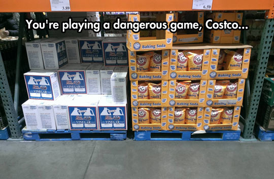Careful Costco