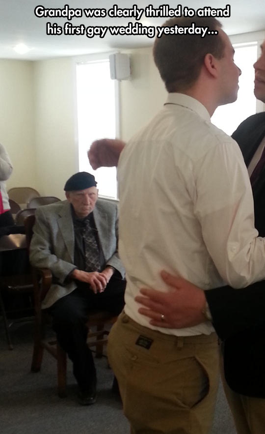 funny-wedding-grandfather-first-attend