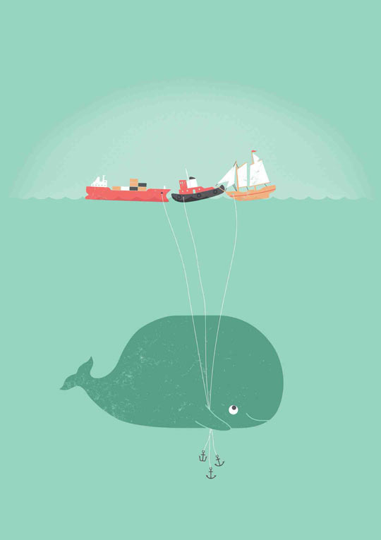 Whale's balloons…
