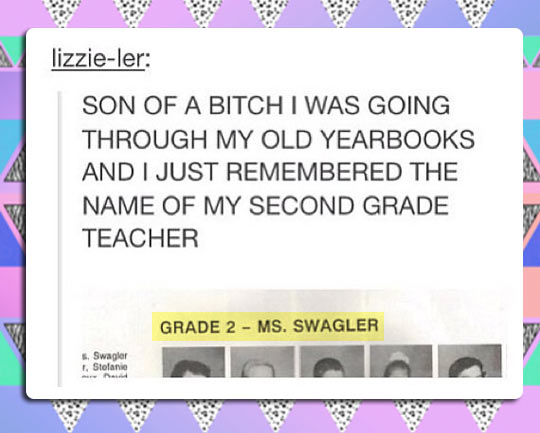 Probably The Best Name a Teacher Can Have