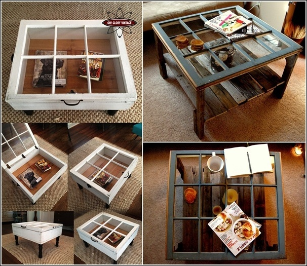 5 Ideas Salvaged Old Windows And Turned Them To A