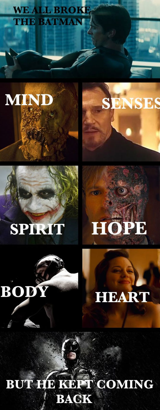That's Why He Is The Best Superhero Ever