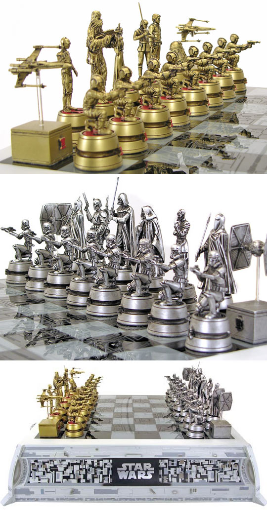 Star Wars Chess Set, For The True Nerd In You