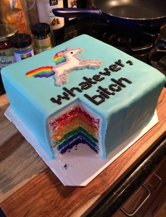 Spock Birthday Cake