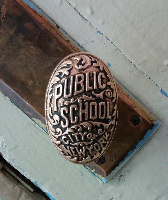 New York Public School's Doorknob
