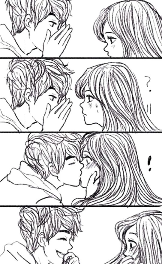 cool-drawing-kiss-boy-girl-shy