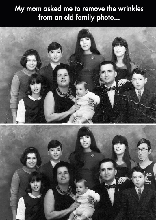 cool-old-family-picture-wrinkles-fix
