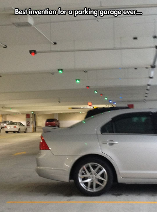 Every Parking Garage Should Have This