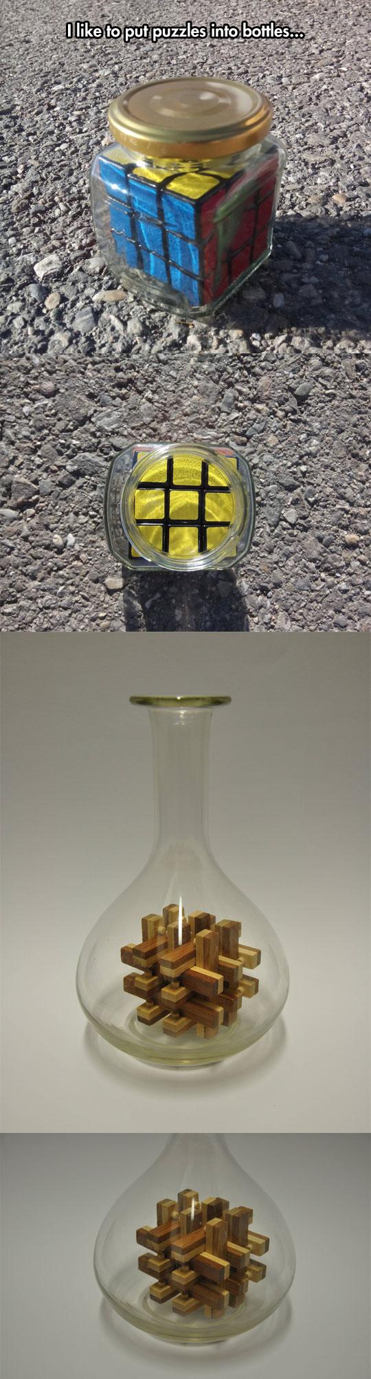 cool-puzzle-inside-bottle-illusion