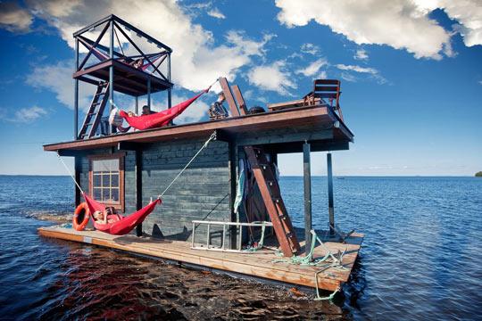 Sauna Raft