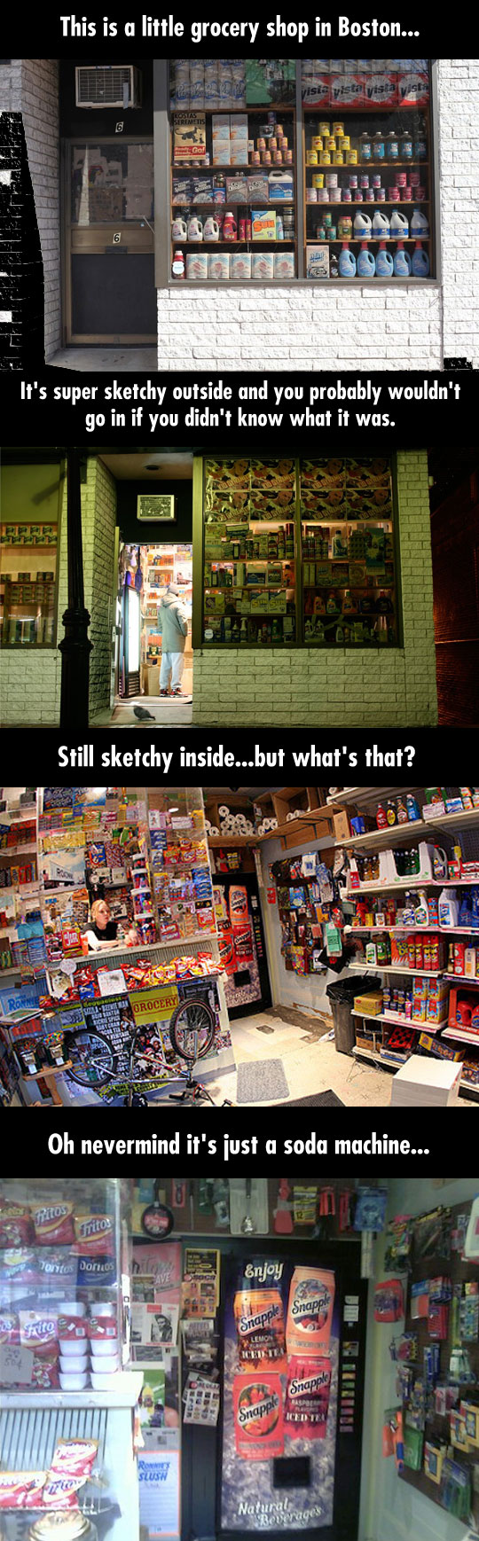 The Amazing Secret Store Of Boston