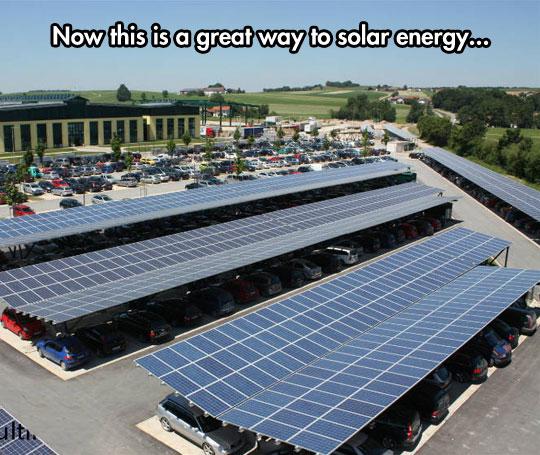 cool-solar-energy-panel-parking-lot