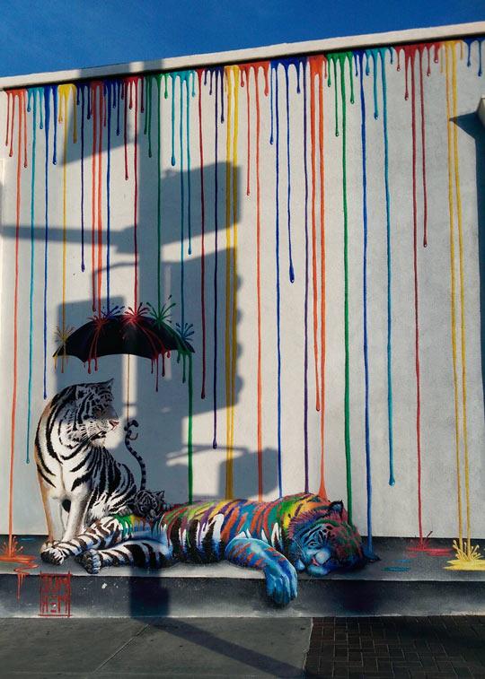 Cool Street Art In California