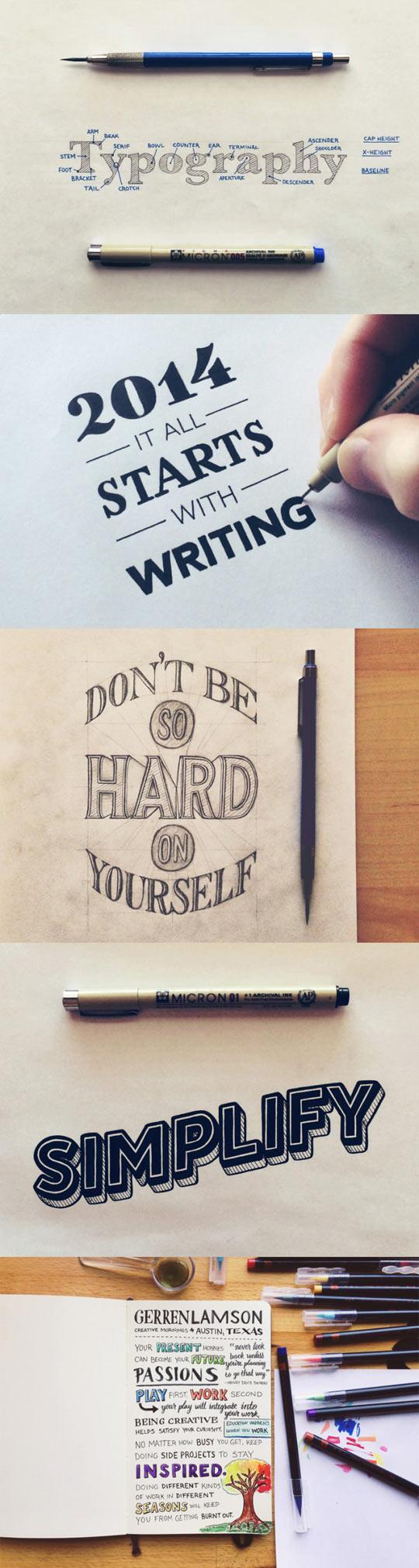Mad Hand-Writing Skills, Yo!