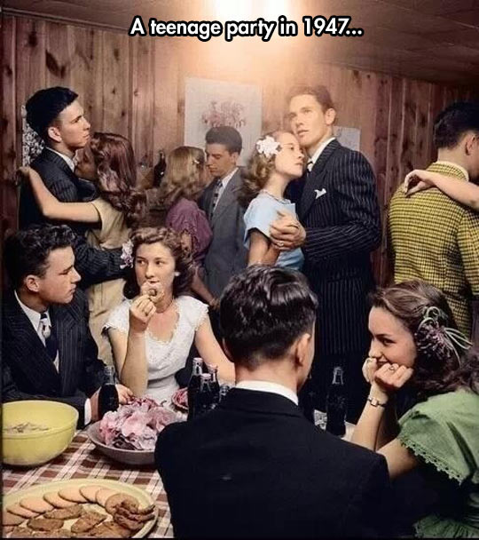 cool-vintage-picture-teenage-party