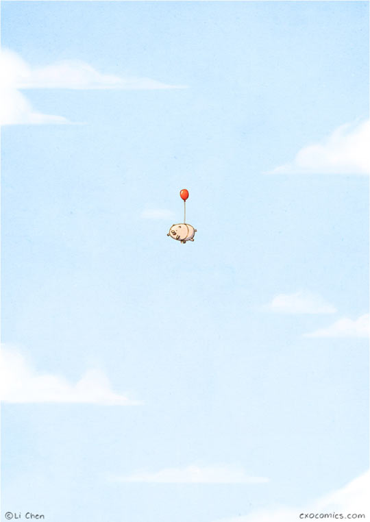 When Really Tiny Pigs Fly