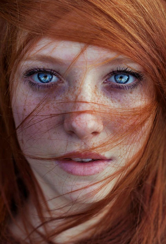 The Beauty Of Freckles