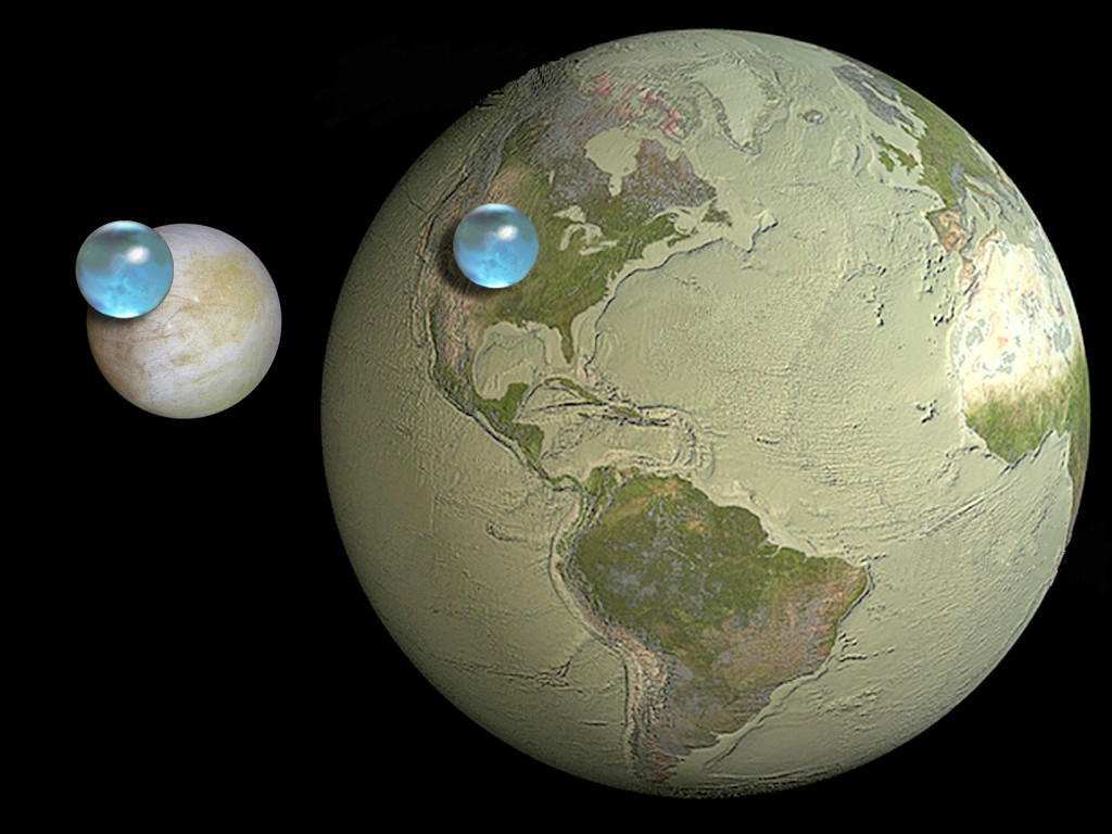 europa vs earth