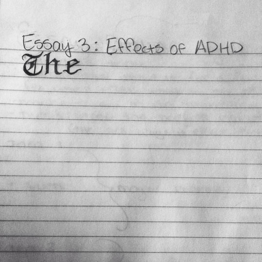 funny-ADHD-effect-exam-paper-essay