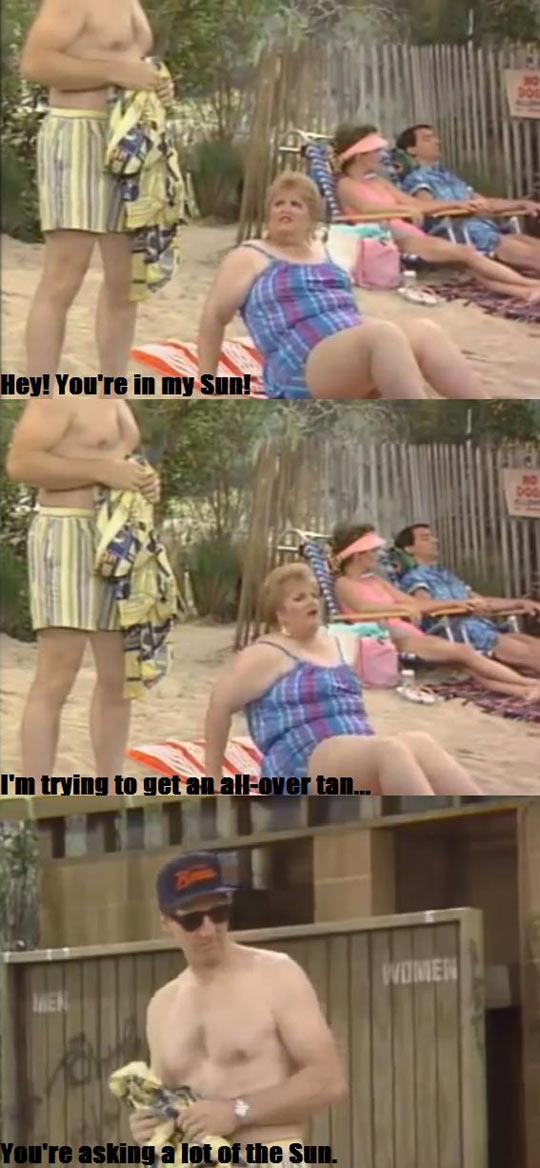 funny-Al-Bundy-fat-sun-beach