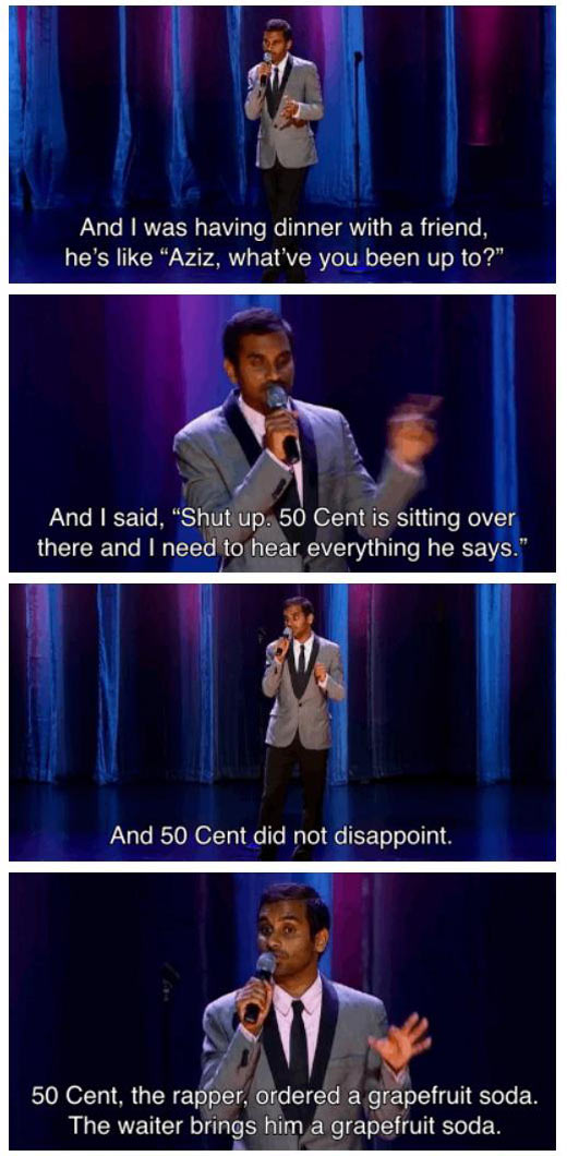 funny-Aziz-Ansari-grapefruit-soda