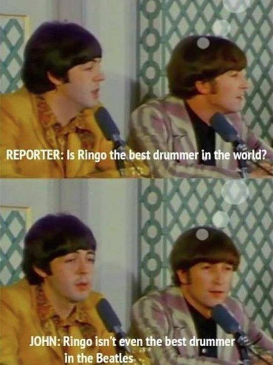 funny-Beatles-Ringo-drummer-Paul-interview