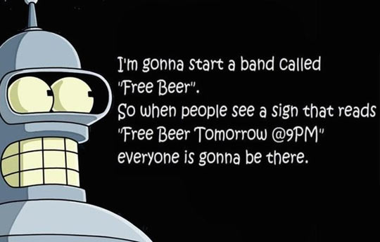 funny-Bender-quote-free-beer